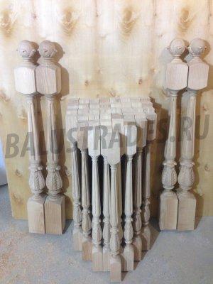 Балясины комбинированные дерево металл купить