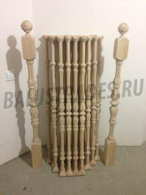 Купить балясины из дерева для лестницы - WoodWorkWood